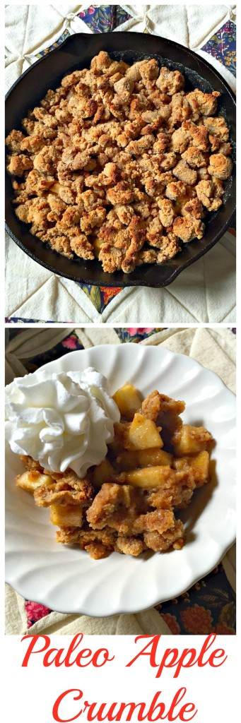 Paleo Apple Crumble