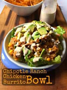 Chipotle Ranch Chicken Burrito Bowl CV