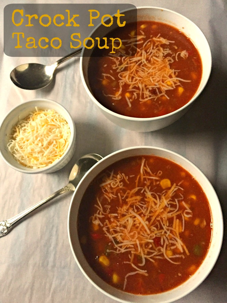 Crock Pot Taco Soup CV