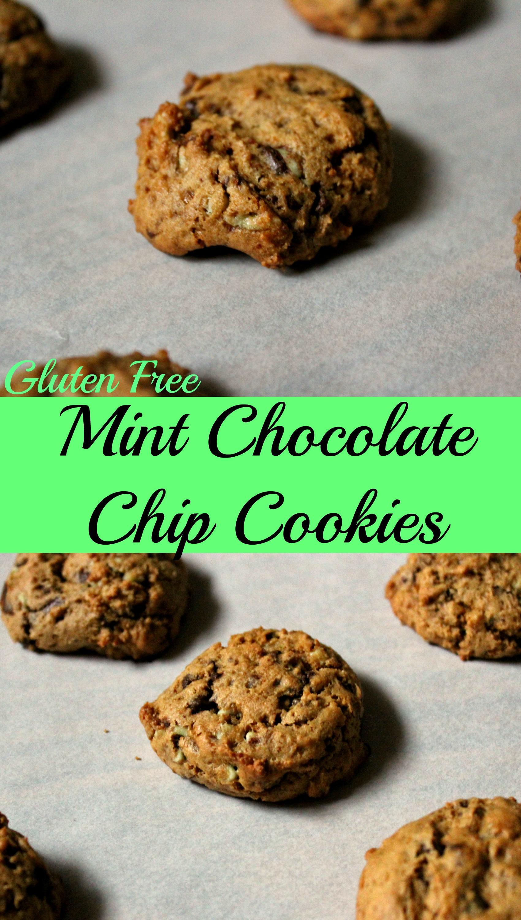 Mint Chocolate Chip Cookies CV