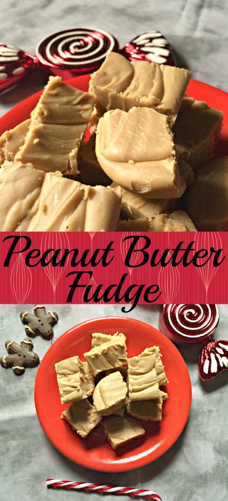 Peanut Butter Fudge collage
