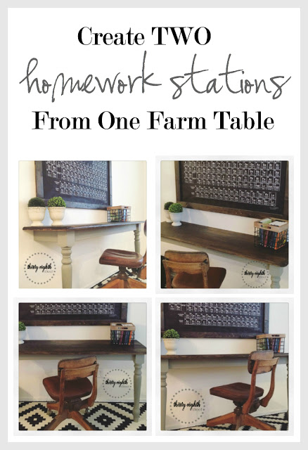 DIY Rustic Desks Collage 735