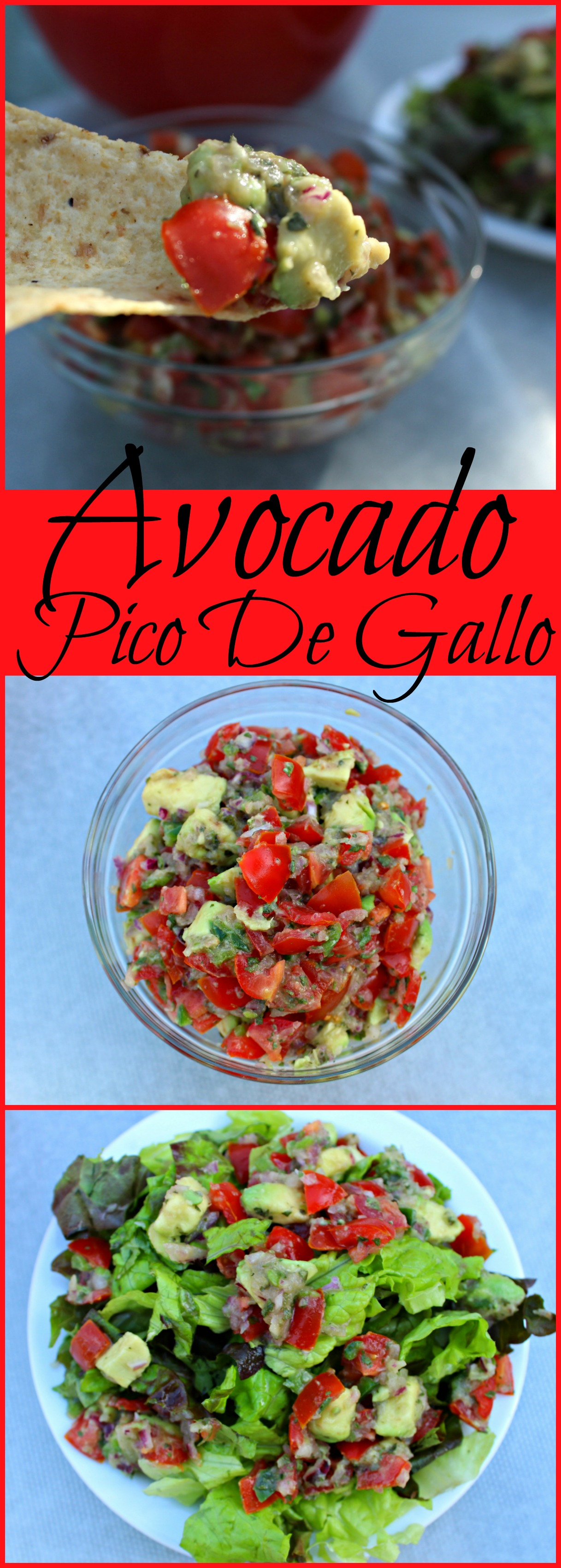 Avocado Pico De Gallo Pin