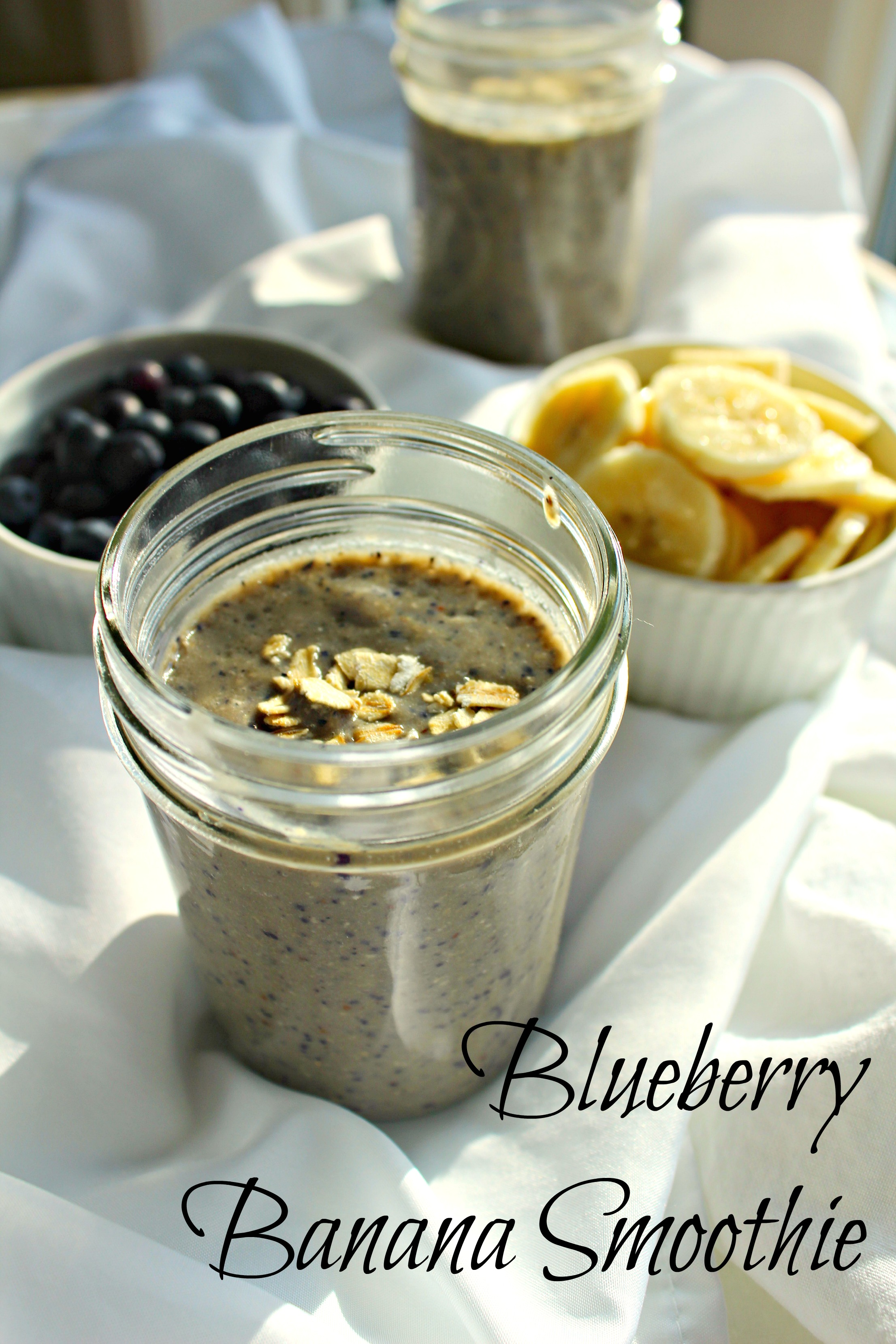 blueberry banana smoothie CV
