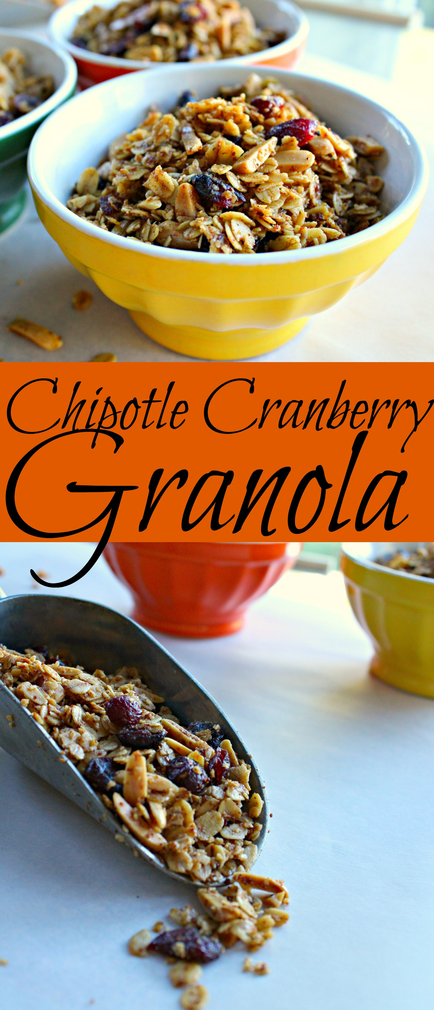Chipotle Cranberry Granola Pin