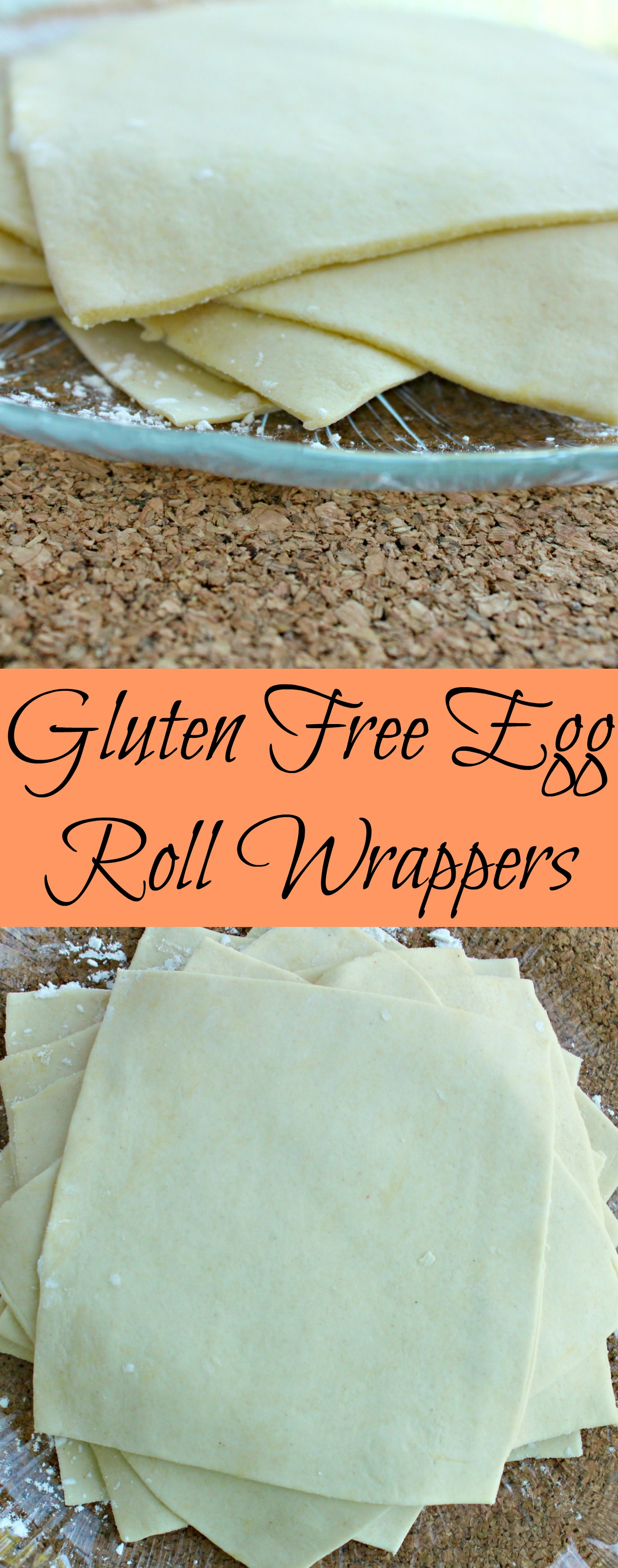 Gluten Free Egg Roll Wrappers Pin