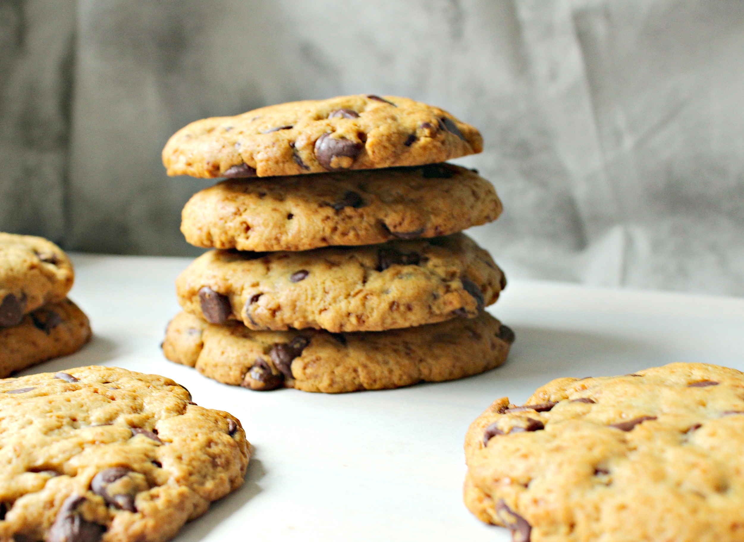 Giant Chocolate Chip Cookies 2