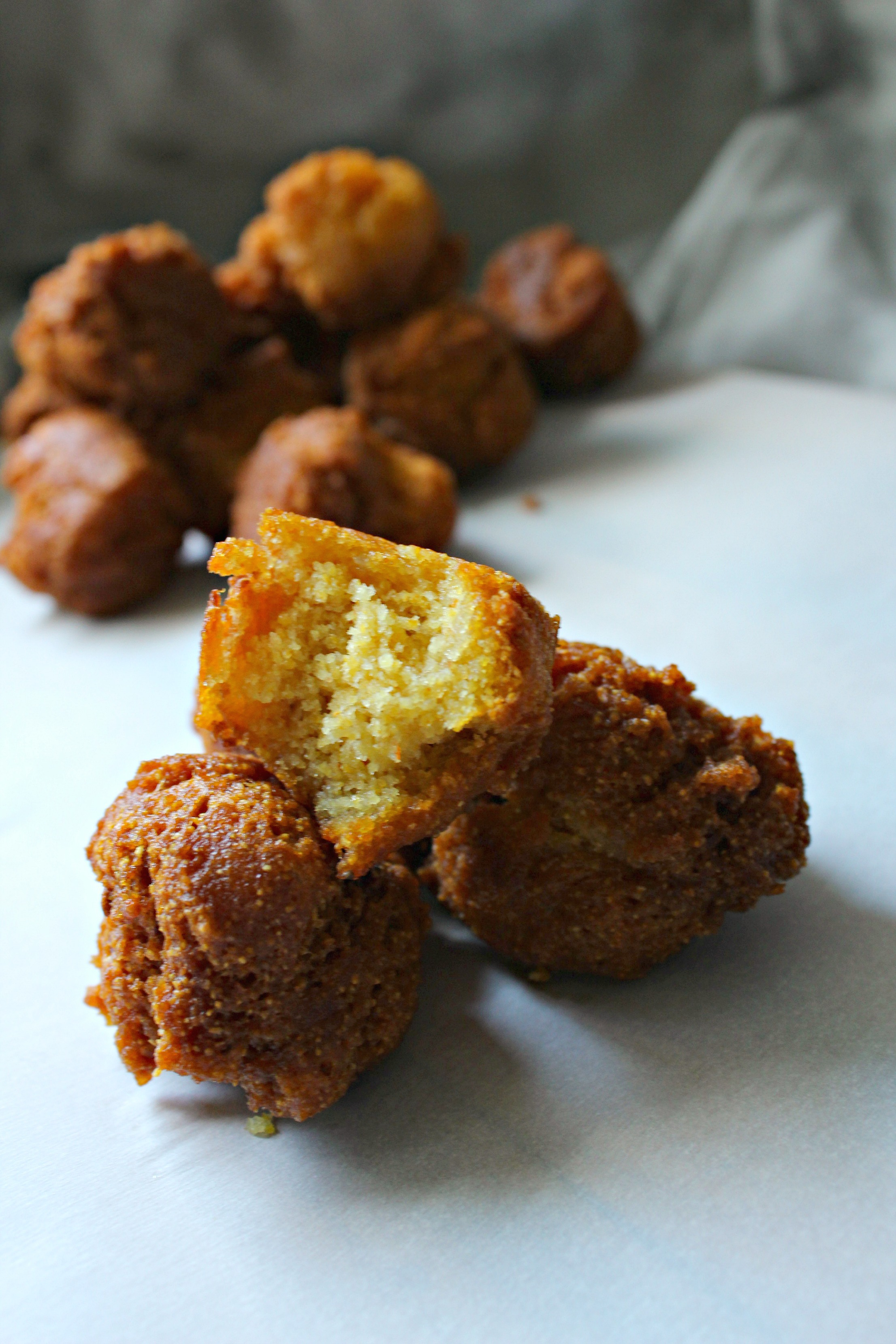 Gluten Free Hush Puppies - Not Too Shabby Gabby