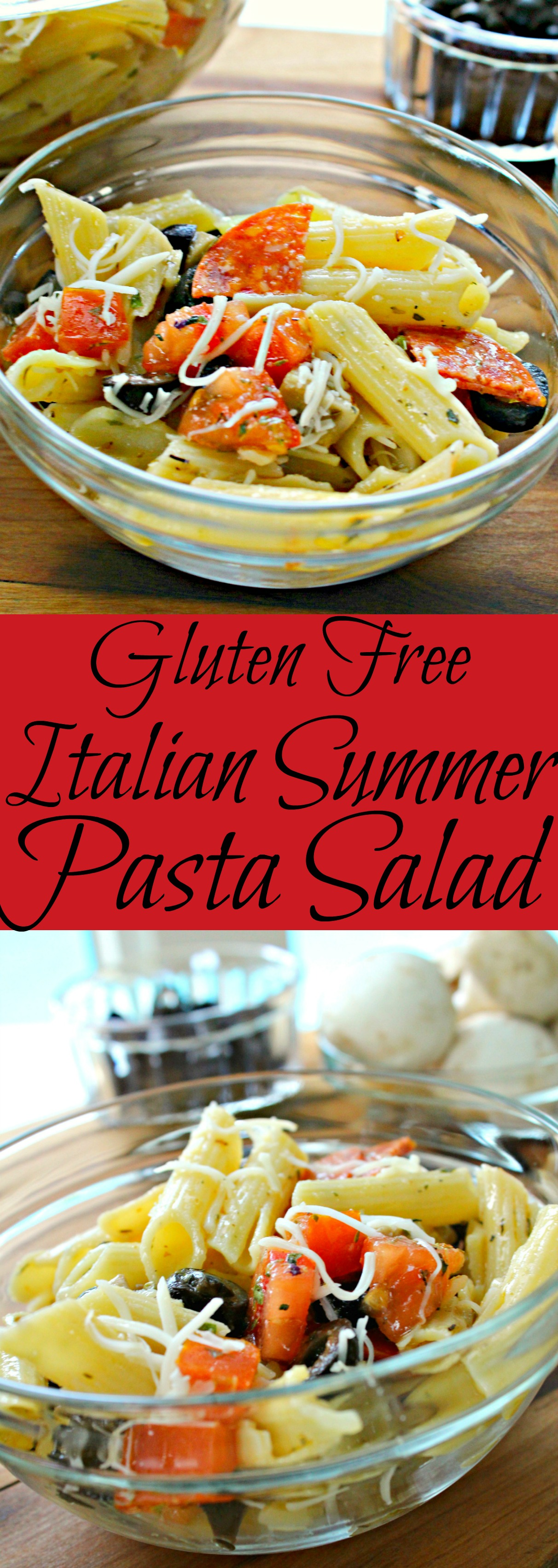 Italian Summer Pasta Salad Pin