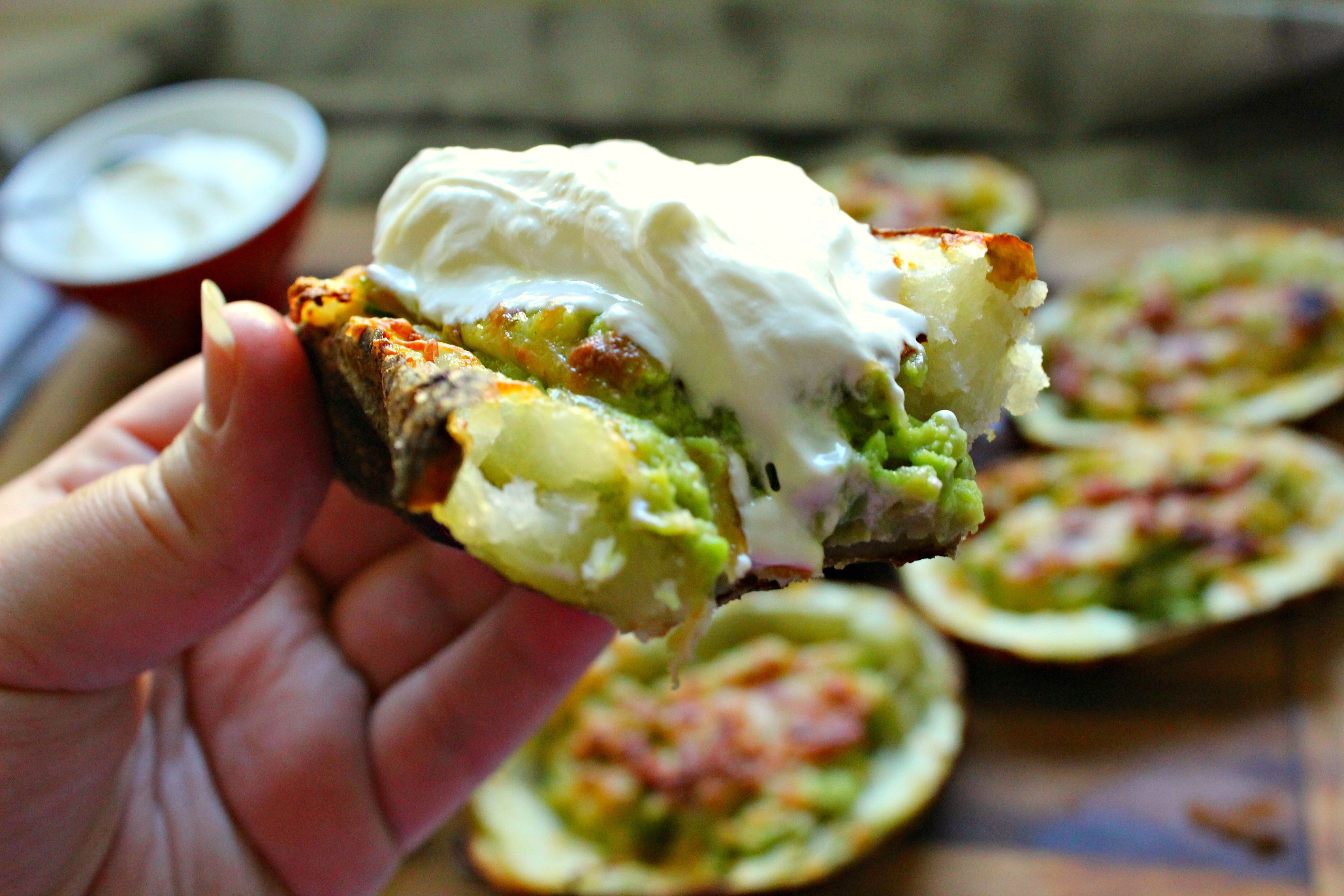 guacamole stuffed potato skins 2