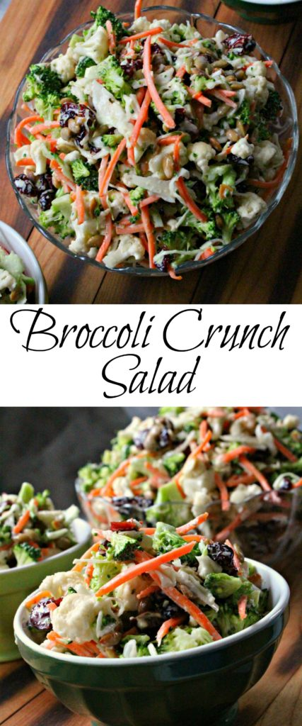 Broccoli Crunch Salad Pin