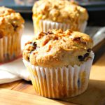 Gluten Free White Chocolate Cranberry Muffins