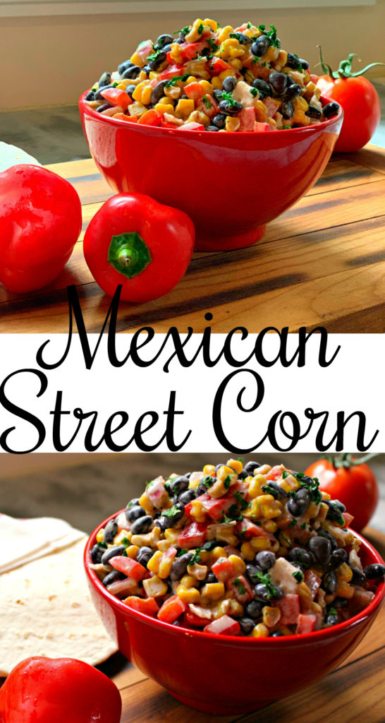 A delicious take on Mexican Street Corn, this recipe goes great with so many things! Fajitas, tacos and burritos to start! | gluten free | Mexican Street Corn | Gluten free dish | Gluten free snack | Gluten free side dish | vegetarian |  Vegan | gluten free vegan |