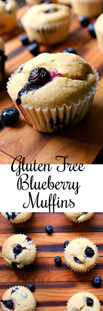 Gluten Free Blueberry Muffins Pin